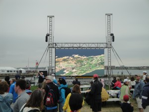 Volvo Ocean Race Video Wall