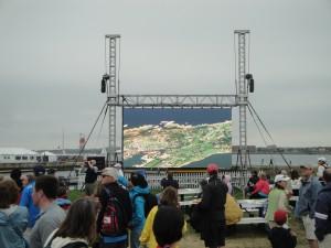 Volvo Ocean Race Video Wall