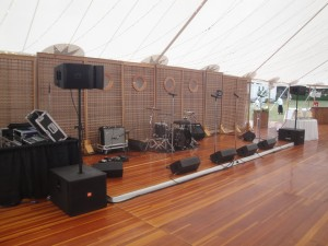 Band Sound Set-up