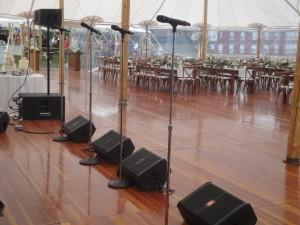 Band Sound set-up 2
