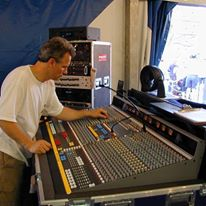 Sound Engineer & Mixing Board